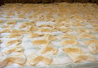 Farfalle home made